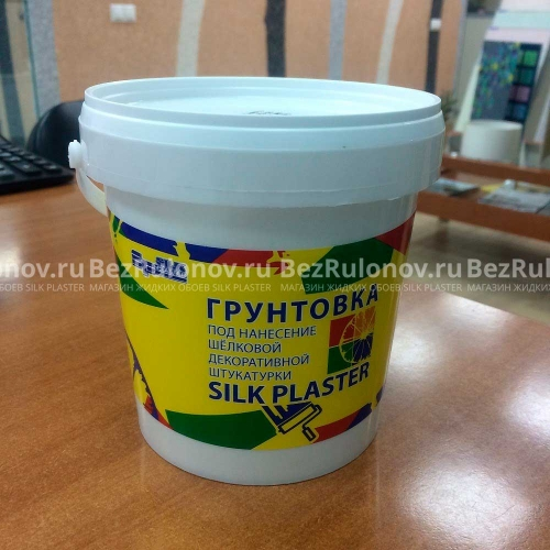 Грунтовка silk plaster 1 литр