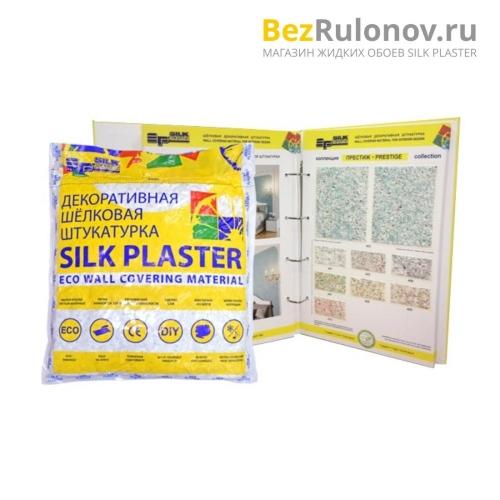Жидкие обои Silk Plaster, коллекция престиж, упаковка