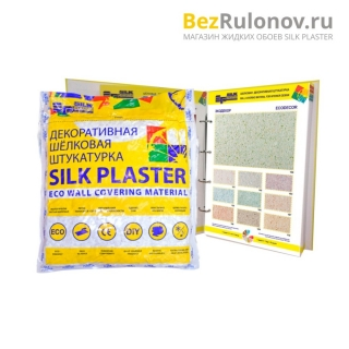 Жидкие обои Silk Plaster, коллекция Экодекор, упаковка