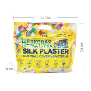 Жидкие обои Silk Plaster, коллекция Арт дизайн, упаковка - размеры