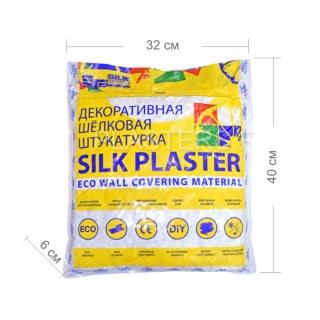 Жидкие обои Silk Plaster, коллекция Экодекор, упаковка-размеры