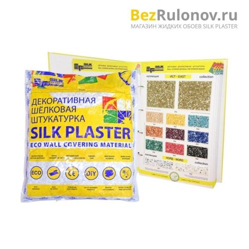 Жидкие обои Silk Plaster, коллекция Восток (East), упаковка